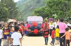 Celebran en Vietnam encuentro amistoso con motivo de fiesta tradicional laosiana Bunpimay