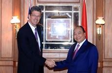 Premier vietnamita recibe a directivos de empresas lecheras de Nueva Zelanda