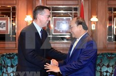 Premier vietnamita sostiene encuentros con gerentes de empresas neozelandesas