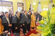 Rinden homenaje póstumo a vicepresidente del Consejo Ejecutivo de Sangha Budista de Vietnam