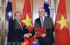 Vietnam y Australia emiten declaración conjunta sobre establecimiento de asociación estratégica