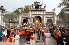 Hanoi mejora la preservación del sitio reliquia de Co Loa