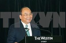 Premier vietnamita aboga por fortalecer lazos empresariales con Australia