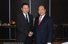 Premier de Vietnam se reúne en Sídney con su homólogo de Laos