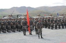 Camboya y China celebran segunda maniobra conjunta