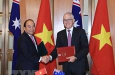 Premier de Vietnam concluye gira por Oceanía