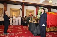 Inician acto fúnebre en memoria del exprimer ministro Pham Van Khai