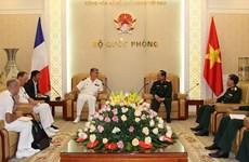 Vietnam y Francia destacan potencialidades de cooperación en defensa