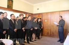 Continúan homenajes a expremier vietnamita Phan Van Khai en diversos países