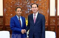 Presidente de Vietnam resalta contribución del embajador de Arabia Saudita