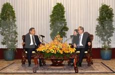 Ciudad Ho Chi Minh prioriza impulsar cooperación con localidades laosianas