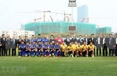 Presidente de Sudcorea sostiene encuentro con equipo sub-23 de Vietnam