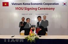 Vietnam y Sudcorea se empeñan en promover intercambio comercial bilateral
