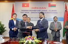Intercambio comercial Vietnam-Omán reporta alto crecimiento