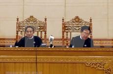 Presidenta del Parlamento vietnamita felicita al nuevo titular de la Cámara Baja de Myanmar