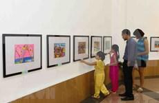 Presentan pinturas europeas al público de Da Nang
