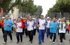 Localidades vietnamitas responden al Día de la Carrera Olímpica por la Salud Pública
