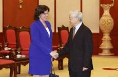 Reviste especial connotación visita a Cuba del líder vietnamita Nguyen Phu Trong