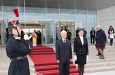 Secretario general del Partido Comunista de Vietnam inicia visita a Francia