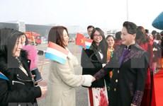 Presidenta del Parlamento de Vietnam inicia vista a Países Bajos