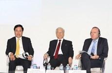 Vietnam aspira a la operación duradera de empresas francesas