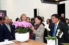 Presidenta parlamentaria de Vietnam indaga agricultura de alta tecnología en Países Bajos