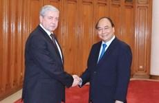 Premier de Vietnam aboga por fortalecimiento de nexos comerciales con Belarús