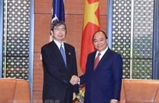 Premier vietnamita recibe al presidente del Banco Asiático para el Desarrollo
