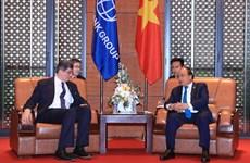 Premier vietnamita recibe a director general de BM