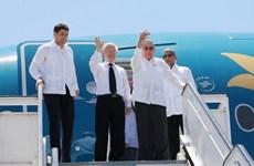 Dirigente partidista vietnamita concluye visita a Cuba