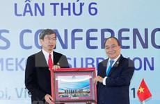 Sexta Cumbre de la Subregión del Gran Mekong adopta documentos importantes