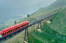 Inauguran ruta ferroviaria de escala montañosa más larga en Vietnam