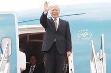 Máximo dirigente político de Vietnam cierra con éxito gira por Francia y Cuba