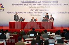 CLV-10 marca importante hito de cooperación en Triángulo de Desarrollo, según premier vietnamita