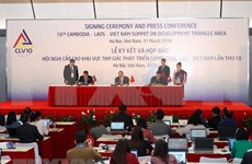 Reafirman Vietnam, Laos y Camboya compromiso con un Triángulo de Desarrollo próspero