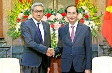 Presidente vietnamita resalta la amistad consolidada con Mongolia
