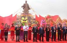 Inauguradas obras dedicadas a héroe vietnamita Ly Thuong Kiet