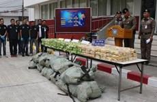 Tailandia desmantela gran red de tráfico de drogas