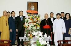 Frente de la Patria de Vietnam extiende felicitaciones por Pascua