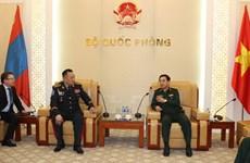Vietnam y Mongolia acuerdan incrementar los nexos en defensa