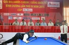 Efectúan en Ciudad Ho Chi Minh Campeonato Asiático de Carambola 2018