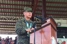 Presidente filipino designa nuevo jefe de Fuerzas Armadas
