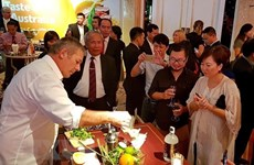 Música y gastronomía estrechan relaciones Vietnam-Australia