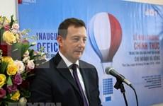 Centro de Cultura Francesa inaugura nueva filial en Hanoi