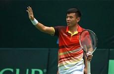 Grupo masculino de tenis de Vietnam asciende al grupo II en Copa Davis