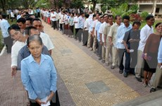 Camboya impide boicot de elecciones generales