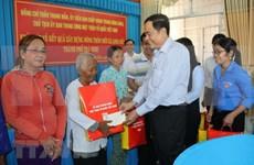 Dirigente vietnamita visita comunidad de Khmer por festival de Chol Chnam Thmay