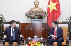 Vietnam valora la asociación de cooperación estratégica con Sudcorea