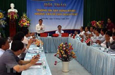 Analizan divulgación de información sobre construcción partidista en Vietnam