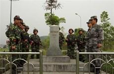 Fuerzas guardafronteras de Vietnam y China realizan patrullaje paralelo